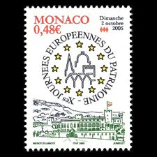 Monaco 2005 - European Day of the Cultural Heritage Architecture - Sc 2390 MNH