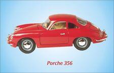 Porche 356 Classic Car Fridge Magnet