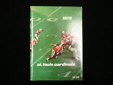 1976 St. Louis Cardinals NFL Media Guide