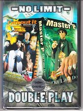 No Limit Double Play: I'm Bout It & Master P~Da Last Don [2-DVD 2002] Brand New!