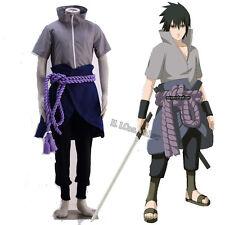 Hot Customized New Cosplay Costume for Naruto Uchiha Sasuke Cosplay Accessories