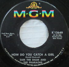 Sam The Sham And The Pharaohs ‎– How Do You Catch A Girl, Vinyl, 45rpm, 1966, VG