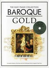 The Easy Piano Collection Baroque Gold Sheet Music Book BEGINNER PURCELL HANDEL