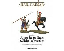Warlord Games - Hail Caesar - Alexander the great and Philip I of macedon - 28mm