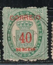 1887 Portuguese colony in China stamps, Macao 40r on 20r, used