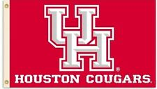 Houston Cougars 95087 3x5 Flag w/grommets Outdoor House Banner University of