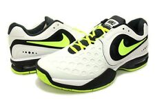 NIKE AIR MAX COURTBALLISTEC 4.3 TENNIS SHOE WHITE VOLT RAFA NADAL UK 8 US 9