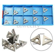 10PCS Aluminum Aolly Carbide Inserts TCGT110204-AK H01/ TCGT21.51-AK H01 NEW US