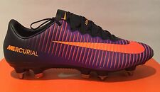 Nike Mercurial Vapor XI SG-PRO 'Purple Dynasty' Size UK 7 (EUR 41) 831941 585