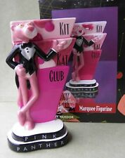 Pink Panther Kit Kat Club Marquee Figurine by Vandor MIB