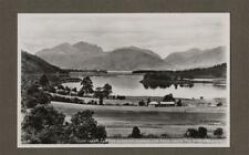 Loch Leven &The Sleeping Chancellor  RP Photograph Vintage Postcard   L.223