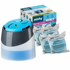 Minky Damp Moisture Condensation Absorber Dehumidifier Anti-Mould with 4 200g