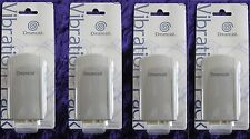 SEGA DREAMCAST - Accessory GREAT VALUE FOUR 4 x Rumble VIBRATION Packs - NEW