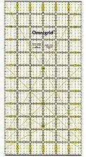 "Omnigrid 6 x 12"" Ultimate Accuracy Quilt Ruler, R12"