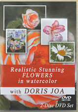 Watercolor DVD How to paint STUNNING FLOWERS