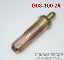 G03-100 2# Oxygen Propane Cutting Welding Torch Tip