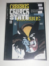 Cerebus Church & State #4 VF Aardvarkvanaheim Mar 1991