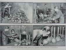 1915 MUNITIONS TRAINING SCHOOL FOR BOMB MAKING - MORTAR SHELLS? WWI WW1