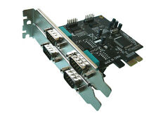 Carte PCIE SERIE RS232  PCI EXPRESS - 4 PORTS COM DB9