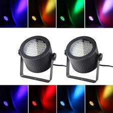 2x LED Disco Lichteffekte RGB DJ Lampe DMX Bühnenbeleuchtung Party Strahler