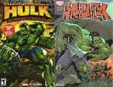 INCREDIBLE HULK 1 GIVEAWAY PROMO ULTIMATE DESTRUCTION A VARIANT & SLEEVE VIVENDI