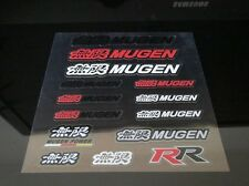 HONDA MUGEN STICKER BADGE DECAL WHEEL SET TYPE R EP3 FN2 AP1 EK9 DC5 DC2 S2000