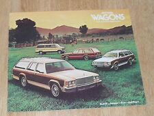 USA - Ford Wagons Brochure Ltd Fairmont Pinto Club 1979