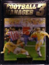Football Manager 3 (Addictive) Amstrad/Spectrum Disk - Small Box - SEALED & VGC