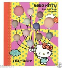 Hello Kitty Girl`s Eye & Cheek Face Palette 10 x Eye Shadows Birthday Gift Set