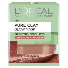 Dermo Expertise Pure Clay Glow Mask, Red 50 ml