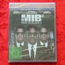 Men in Black 3, MIB 3, Blu-Ray 3D + Blu-Ray, (Man in Black) Neu