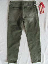 PRPS Goods Selvedge Chino Pants E65P81CM- Tapered Leg -Green- Men's Size 31- NWT