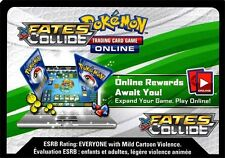 Pokemon TCG XY FATES COLLIDE : 100X VIRTUAL CODE CARD