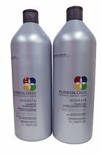 Pureology Hydrate Shampoo and Conditioner for Dry Colored Hair 33.8 oz
