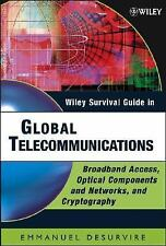 Wiley Survival Guide in Global Telecommunications: Broadband Access, Optical Com