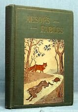 Fables Of Aesop - Joseph Eugene Dash Illustrated