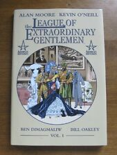 THE LEAGUE OF EXTRAORDINARY GENTLEMEN Alan Moore 1st/1st HCDJ 2000 NF movie film
