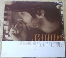 JOSH GROBAN All That Echoes RARE BONUS DVD Making Of - 2013
