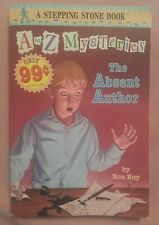 """Lot of 10 """"A to Z Mysteries"""" MYSTERY CHAPTER BOOKS - child children youth"""