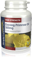 SimplySupplements Evening Primrose Oil 500mg 360 Capsules (S151)