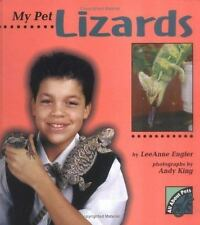 My Pet Lizards (All about Pets)-ExLibrary