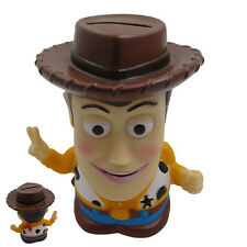 Hot Disney Toy Story Woody Coin Piggy Money Bank Figure
