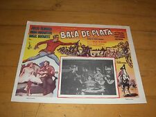 "BALA DE PLATA-ORIG MEXICAN MOVIE LOBBY CARD 11"" X 14""-ANGEL INFANTE"