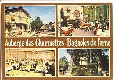 CP 61 ORNE - Bagnoles-de-l'Orne - Auberge des Charmettes - Multivues couleurs
