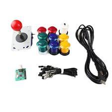 Kit Joystick Arcade 1 joueur Bundle Mame bouton bicolore