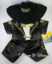 BUILD-A-BEAR MARIACHI COSTUME INTERNATIONAL SPAIN MEXICO TEDDY OUTFIT & HAT NEW