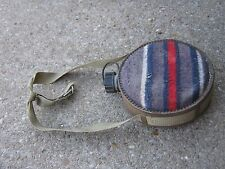 Vintage Used Camping Metal Canteen Strap Western Hiking Canteen