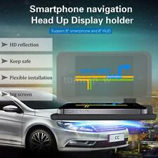 Car HUD GPS Mobile Phone Holder Bracket Big Screen HD Reflection Projector F1U1