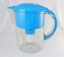 Water Filtration Pitcher, 2 Qt, Code Blue, Removes Poisons, Purifies Tap Water