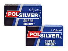 POLSILVER SUPER IRIDIUM 50 DE BLADES FREE PRIORITY SHIPPING WITH TRACKING